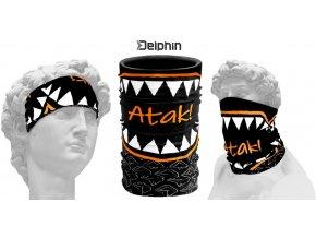 Multifunkční šátek Delphin ATAK!