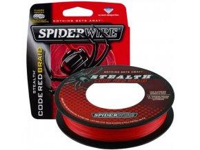 SPIDERWIRE Stealth Code Red Braid pletená šňůra 110 m