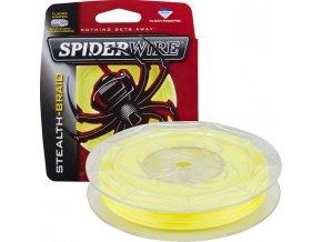 SPIDERWIRE Stealth Braid Yellow pletená šňůra 137 m