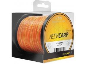 Vlasec FIN Neon Carp X-TRA Fluo žlutá/oranžová 1 m