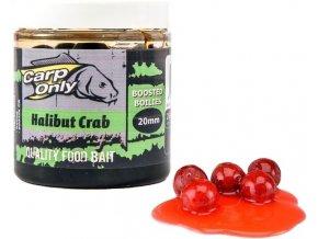 Boilies v dipu Carp Only Halibut & Crab 250 ml
