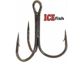 Trojháček ICE Fish černý niká