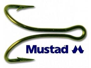 Mustad dvojháčky Limerick Double Hook 3674R-10 - 25 ks