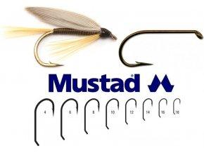 Mustad muškařské háčky Long Nymph Fly Hook R72 - 25 ks