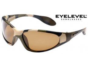 Eyelevel polarizační brýle Camouflage + pouzdro na brýle