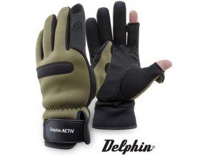 Neoprenové rukavice Delphin Activ