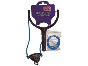 Rybářský prak Feeder Match PB + náhradní gumy a spojky