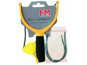 Rybářský prak Feeder Match FB + náhradní gumy a spojky