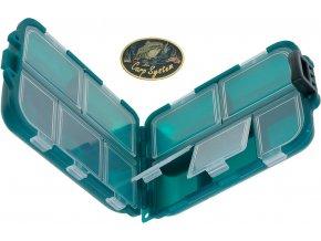 Carp System krabička hranatá - 10 x 7,4 x 3,2 cm