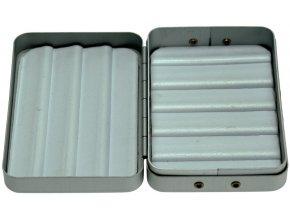 JSA Fish krabička na mušky ALU-2 90 x 60 x 25 mm