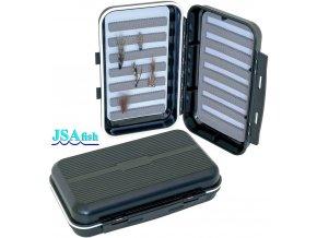 JSA Fish krabička na mušky 06 - 166 x 100 x 42 mm
