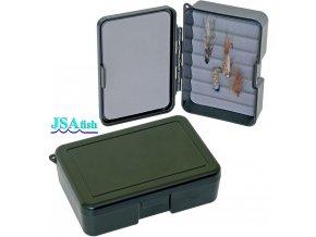 JSA Fish krabička na mušky 10 - 100 x 70 x 30 mm