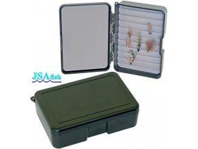 JSA Fish krabička na mušky 11 - 140 x 94 x 35 mm