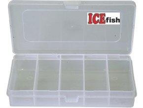 ICE Fish krabička twisterová 5 polí - 18 x 10,5 x 3,5 cm