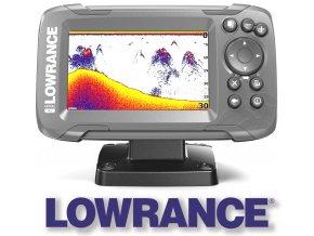 Lowrance echolot HOOK2 4X se sondou Bullet Skimmer Transducer