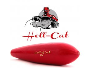 Hell-Cat podvodní splávek zvukový červený