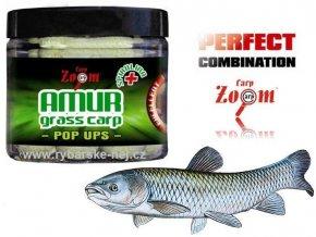 Boilies Carp Zoom Grass Carp Pop Up 16 mm/80 g
