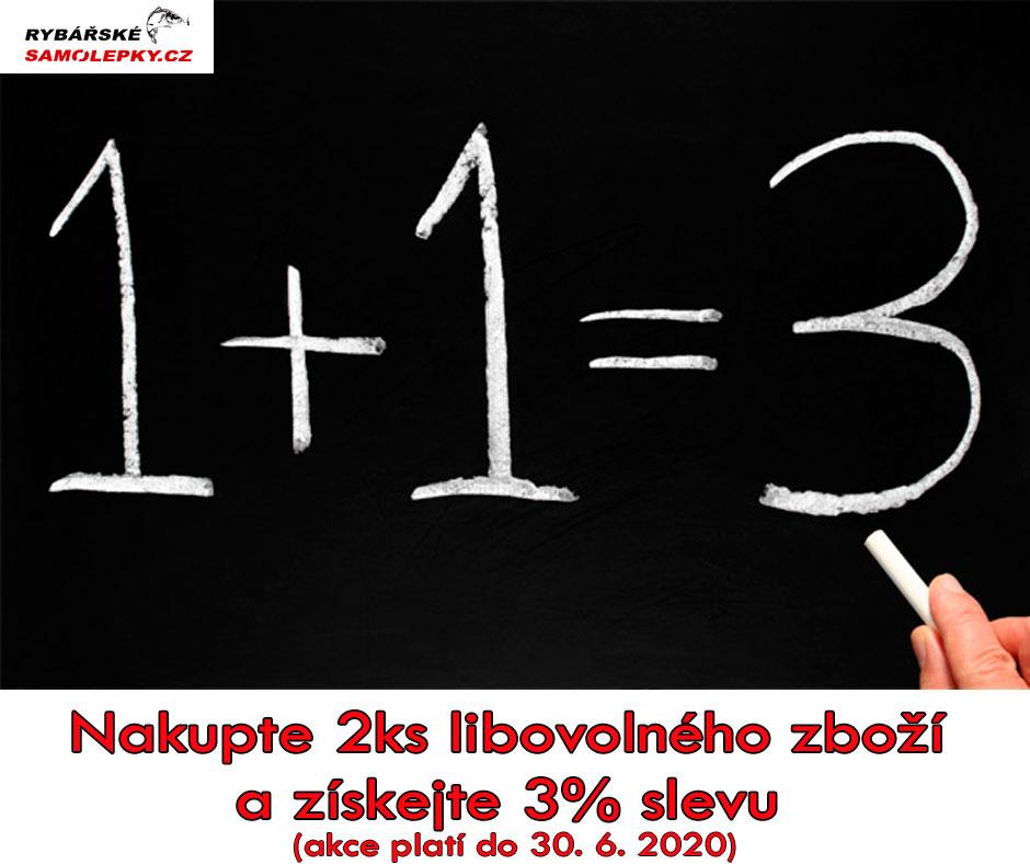 2ks se slevou 3%akce platí do 30.6.2020