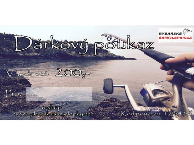 darkový poukazneutral 200