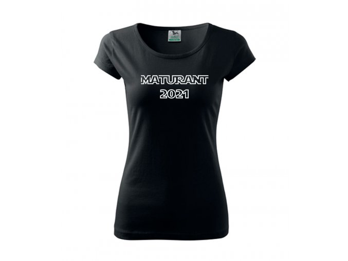 Tričko Maturant 2021 - dámské