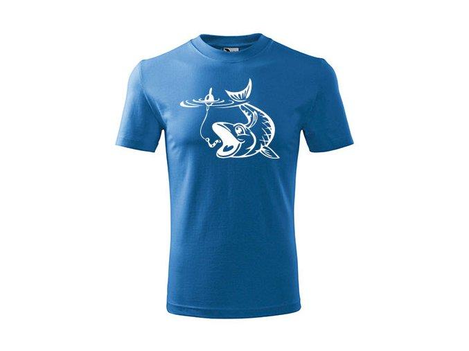 dětské rybářské ttriko kapřík modré