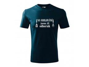 Pánské tričko na grilování jsem odborník