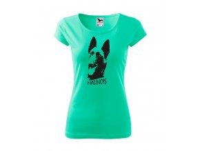 tričko alfik malinoa dámské mátové