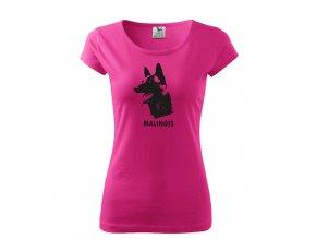 tričko foX malinoa dámské růžové