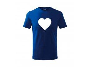 dětské basic kralovska modrase srdcem