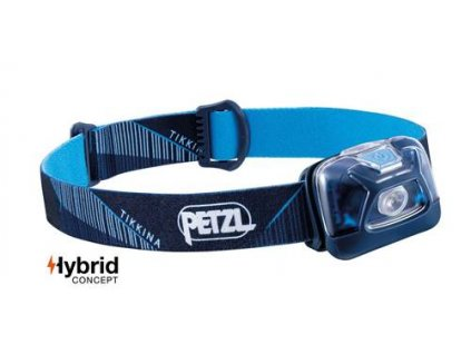 Čelovka Petzl Tikkina hybrid modrá