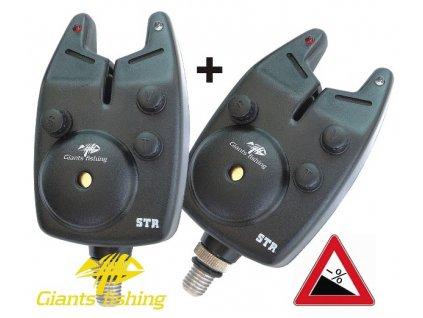 Hlásič Giants fishing Bite alarm STR 1+1 zdarma