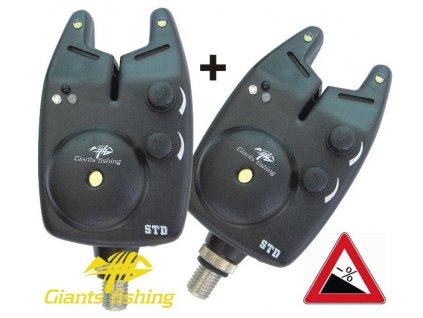 Hlásič Giants fishing Bite alarm STD 1+1 zdarma