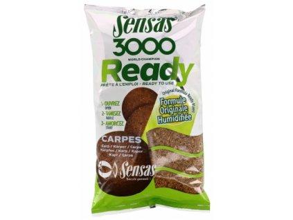 Vnadící směs Sensas 3000 Ready Carpes 1,25kg