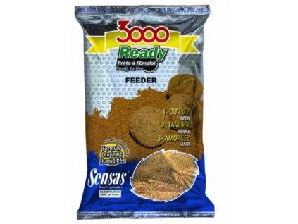 Vnadící směs Sensas 3000 Ready Etang 1,25kg