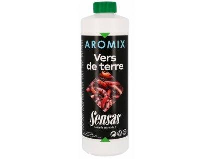 Posilovač tekutý Sensas Aromix Worm 500ml