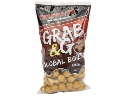 Boilies Starbaits Global Banana cream 20mm 1kg