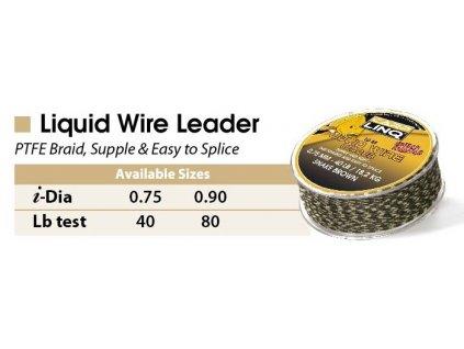 silky soft liquid wire 20m pitch black