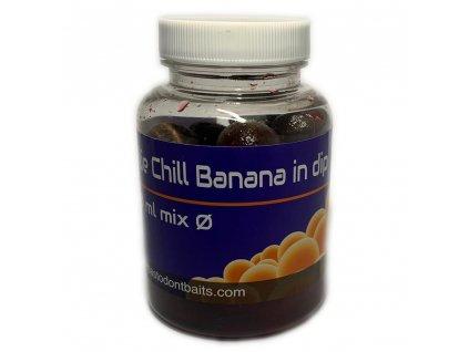 chilll banana in dip