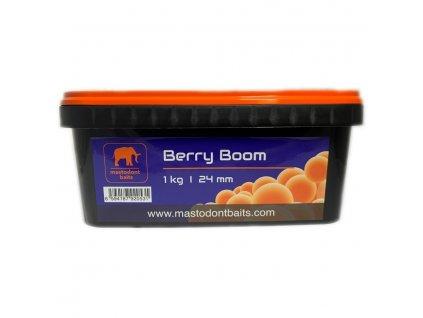 Boilies Mastodont baits Berry Boom 24mm 1kg