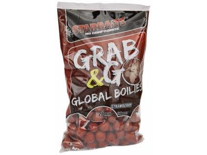 Boilies Starbaits Global Strawberry jam 20mm 1kg