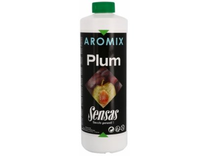 Posilovač tekutý Sensas Aromix Plum 500ml