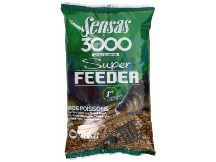 Vnadící směs Sensas 3000 Super feeder Big Fish 1kg