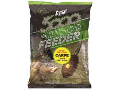 Vnadící směs Sensas 3000 Method Carpes 1kg