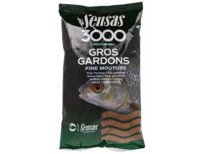 Vnadící směs Sensas 3000 Gros Gardons Fine 1kg