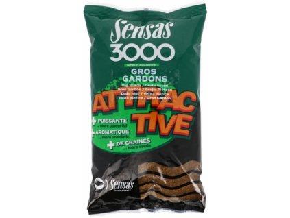 Vnadící směs Sensas 3000 Attractive Gros gardons 1kg
