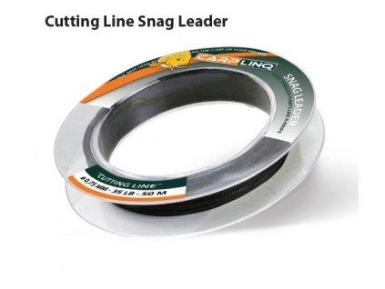 cutt line snag leader 50m