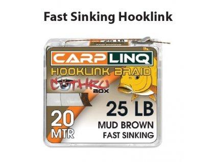 hooklink braid fast sinking 20m