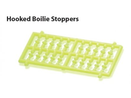 hooked boilie stoppers fluo yellow
