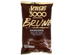 Vnadící směs Sensas 3000 Brune Gardons 1kg