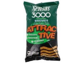 Vnadící směs Sensas 3000 Attractive Carpes 1kg